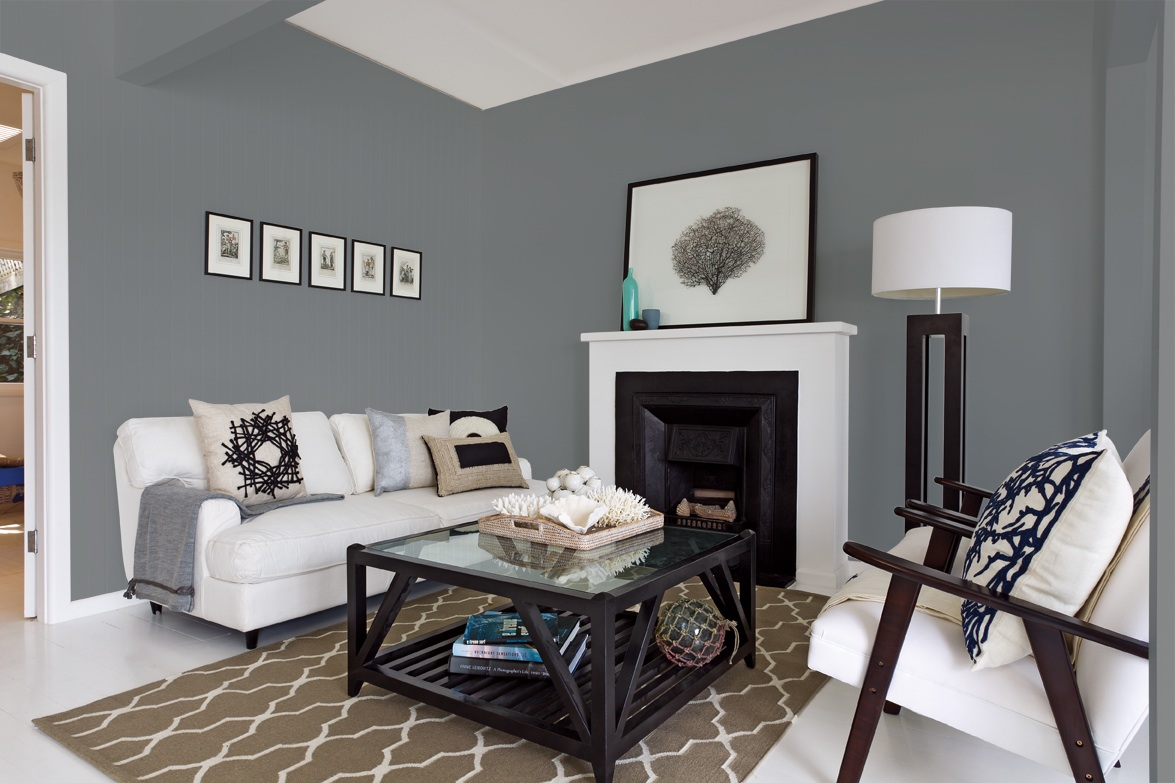 Grey Wall Paint Shaynna Blaze On How To Use Paint Colour  The Interiors Addict