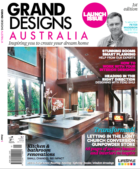 The new grand designs australia magazine the interiors Interiors and decor magazine