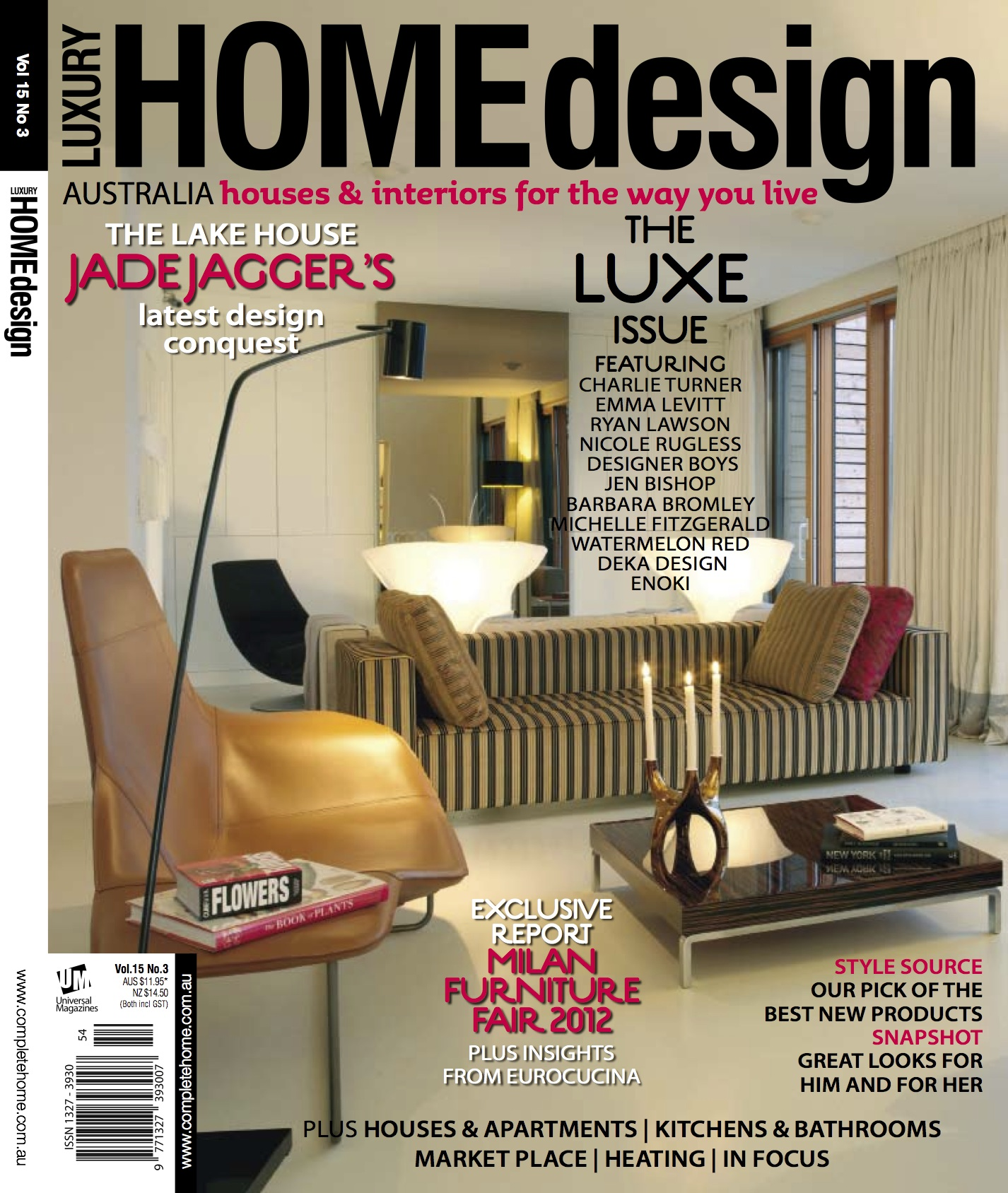 My trend report in Luxury Home Design magazine out today The