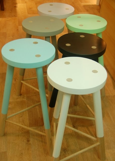 For ... & Cute wooden stools in any colour you like. Discount for Interiors ... islam-shia.org