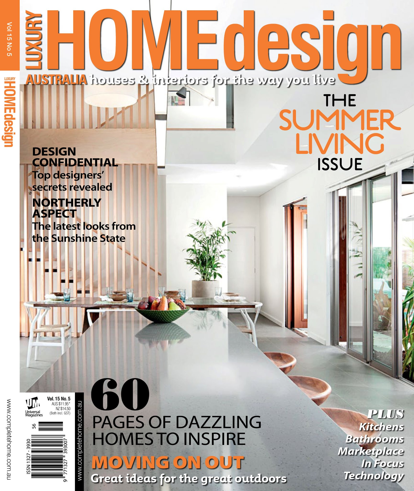 Huge readership increases for luxury home design belle for Best home decor magazine