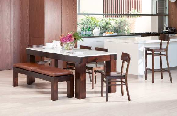 The Freedom Cornerstone Dining Table