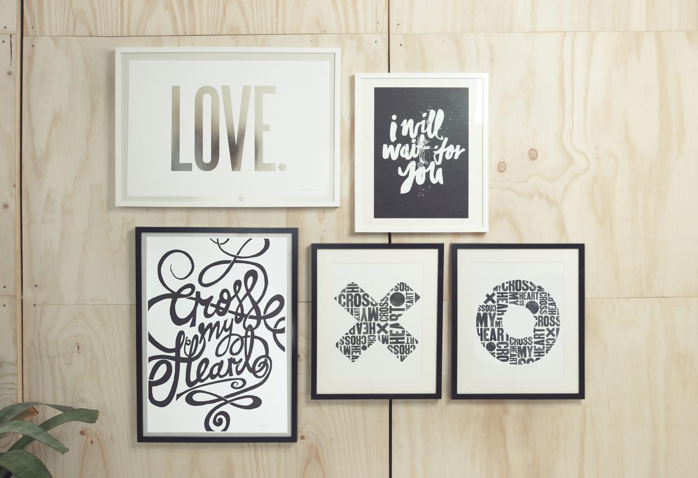 Vintage Blacklist Cross My Heart frames