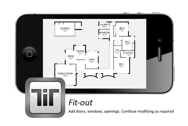 New app makes it easy for anyone to create floorplans on for Floor plan creator app for ipad
