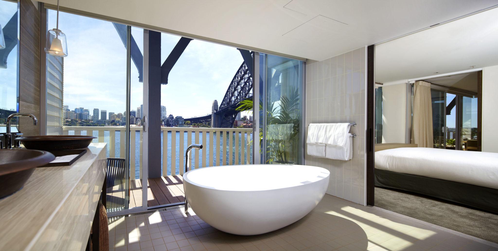 Sebel Pier One suite bath. Bath envy at the Sebel Pier One s new suites   The Interiors Addict