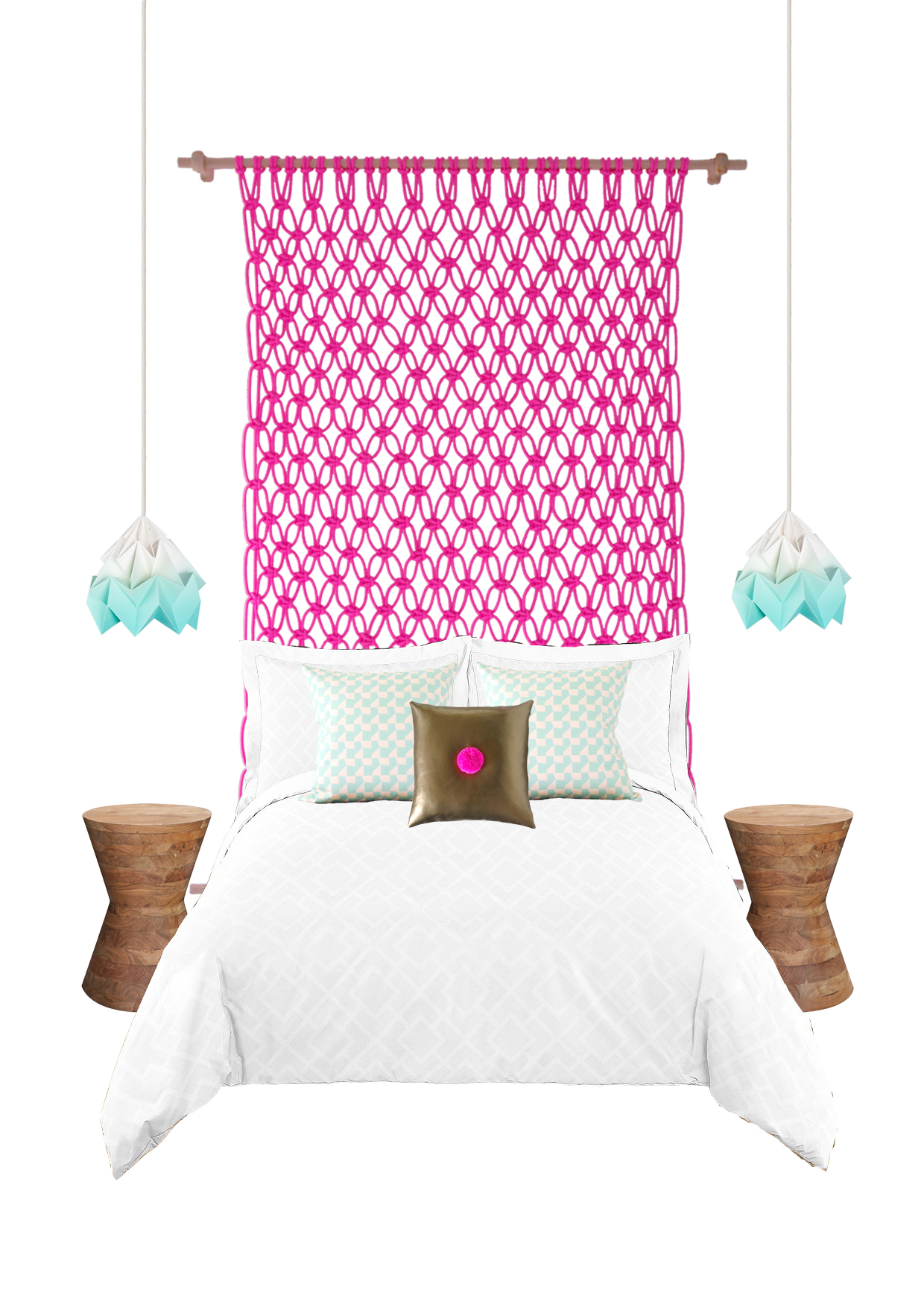 Macrame Neon Bedheads For Big Kids And Small The