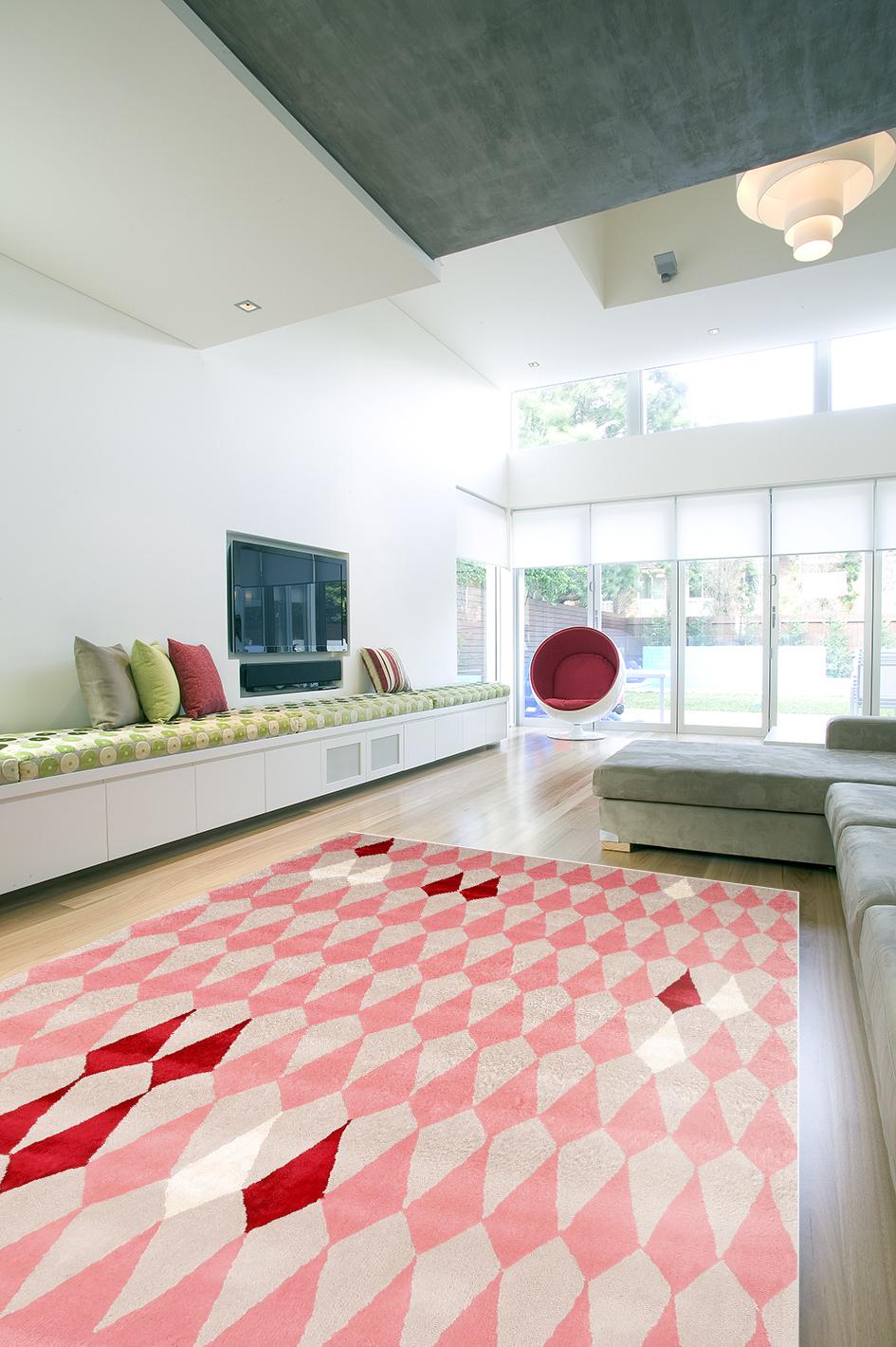 pear melba pink designer rugs