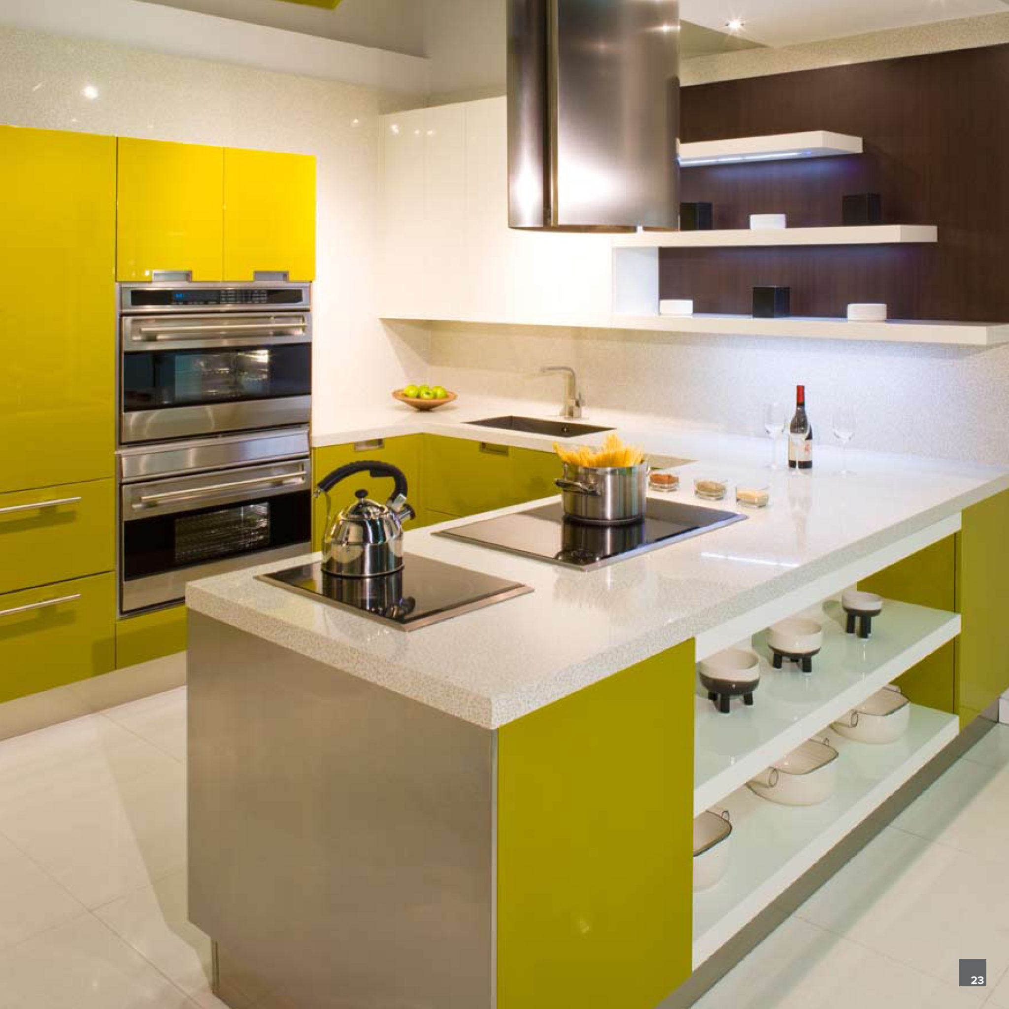 The Latest Kitchen Makeover Trends