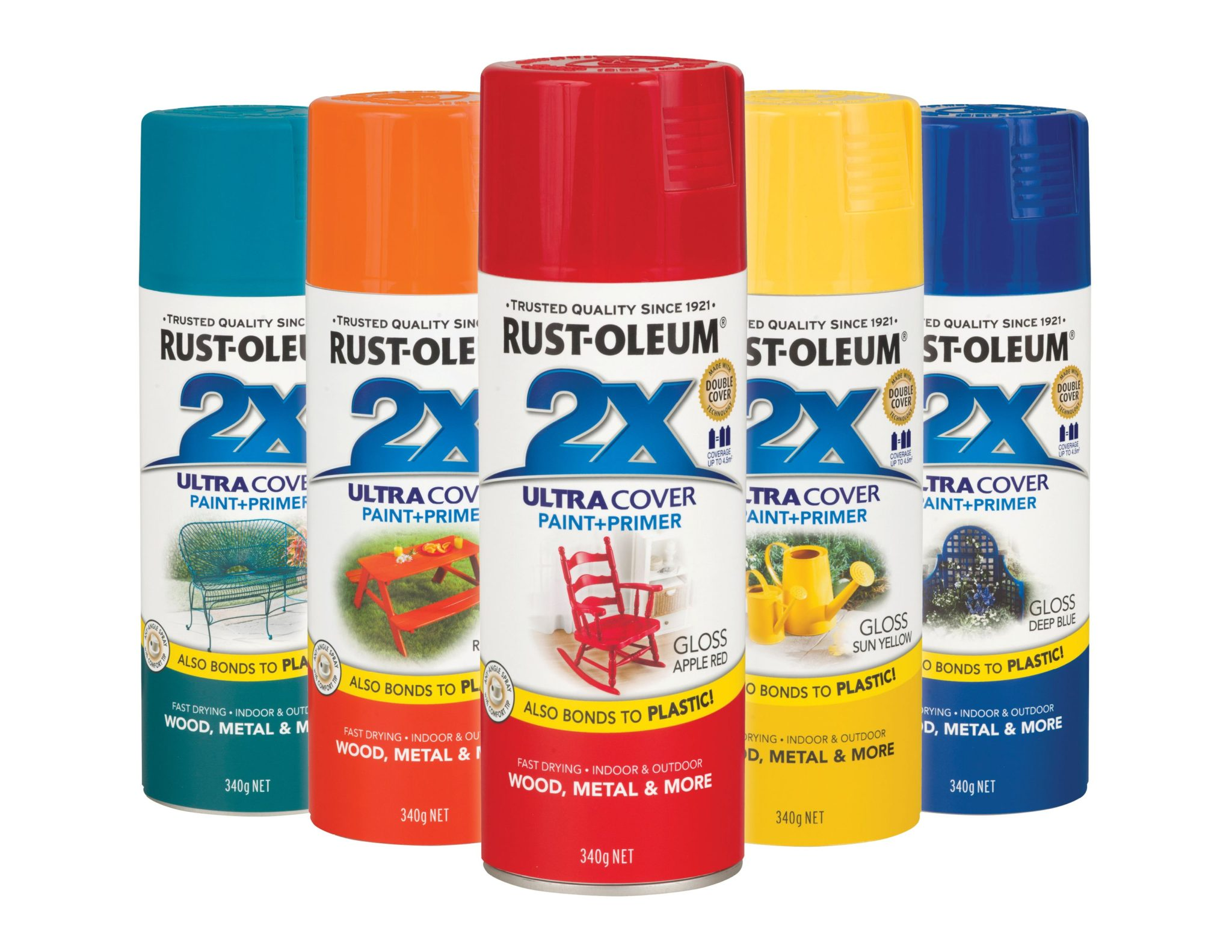 Colourful transformations made quick easy and cheap with new rust oleum 2x spray paint the Spray paint cheap