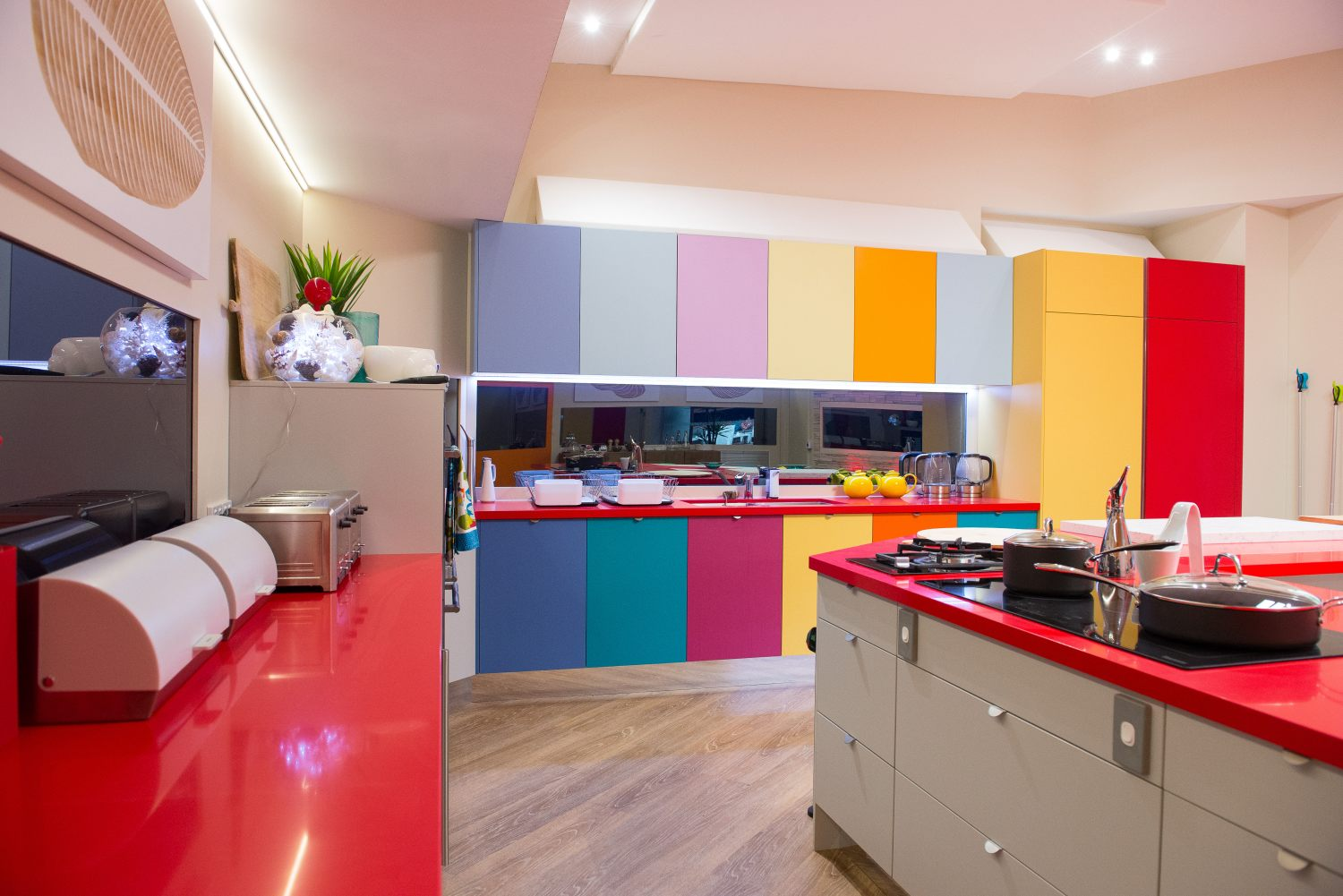 the latest colour trends in kitchen design the interiors addict the big brother house kitchen 2013