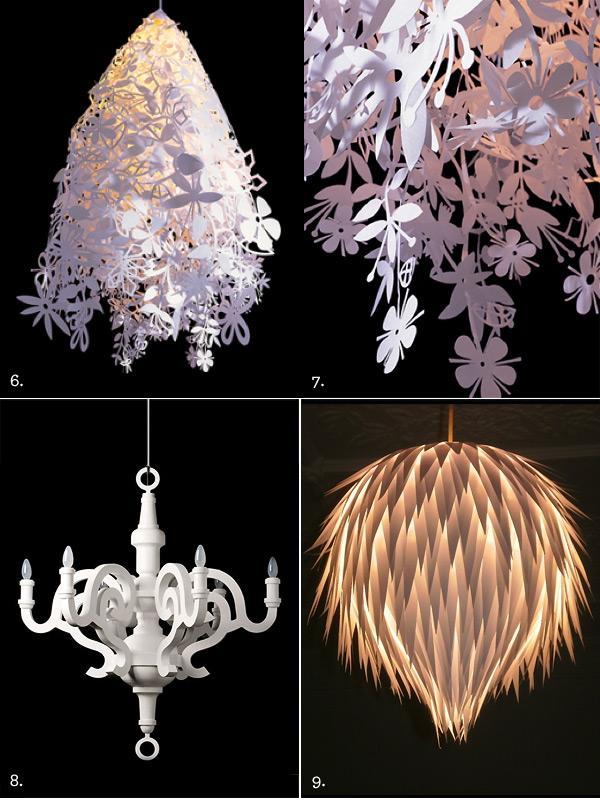 The best of the best paper light fixtures the interiors addict - Paper lighting fixtures ...