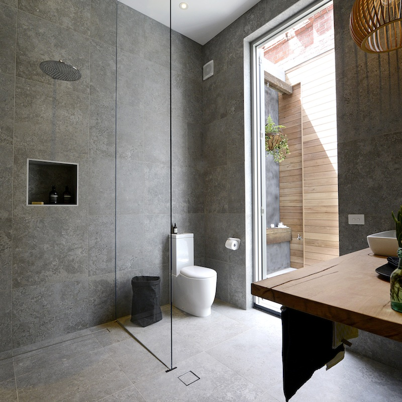 Shop Their Looks The First Block Bathroom Reveals The