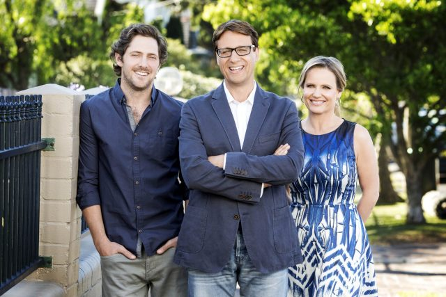 Charlie Albone, Andrew Winter and Shaynna Blaze front Selling Houses Australia