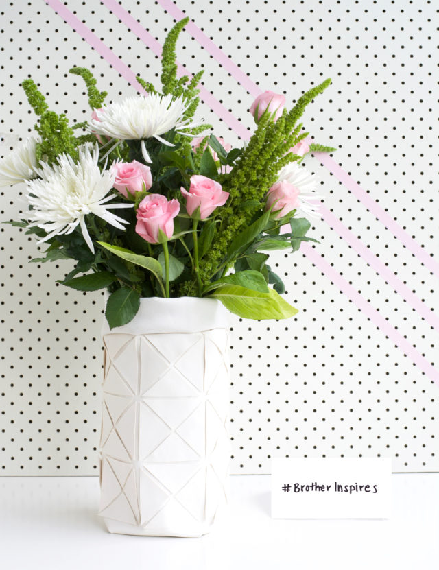 Will you have a go at making this vase for your chance of winning?