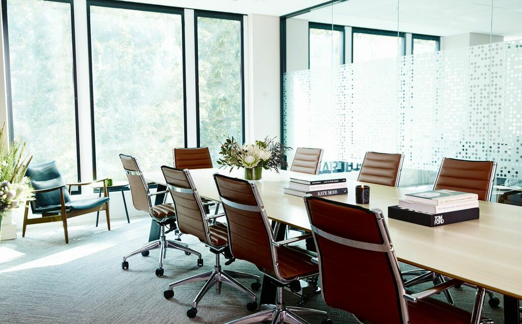 Beautiful bright and bold Brisbane coworking space  The
