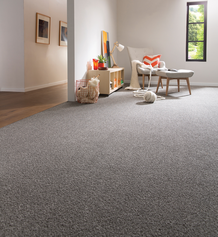 The perfect carpet colours to warm you up this winter for Warm grey living room ideas