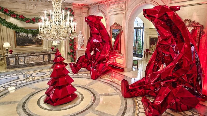 Artistic Christmas Trees