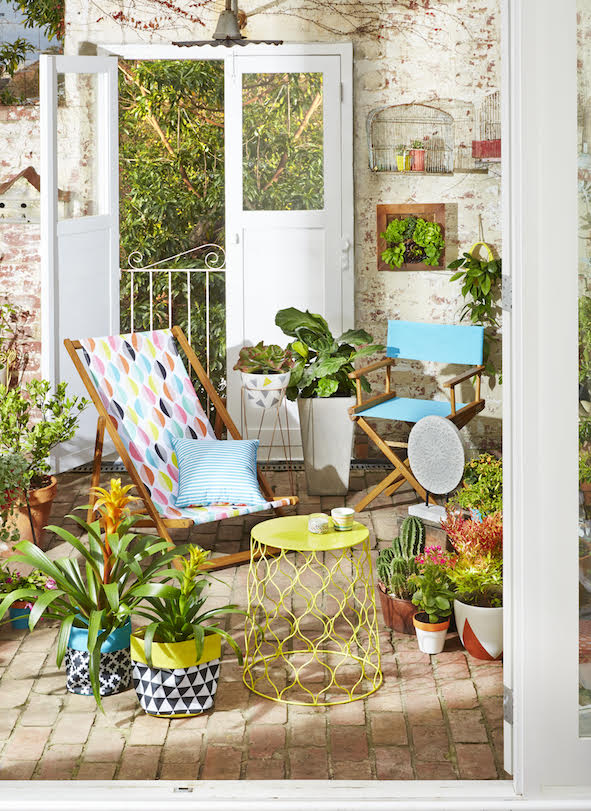 Superb explains Kmart us head of home Julie Miller Sensini ucThis season we have an extensive outdoor range that seamlessly blends with our indoor pieces