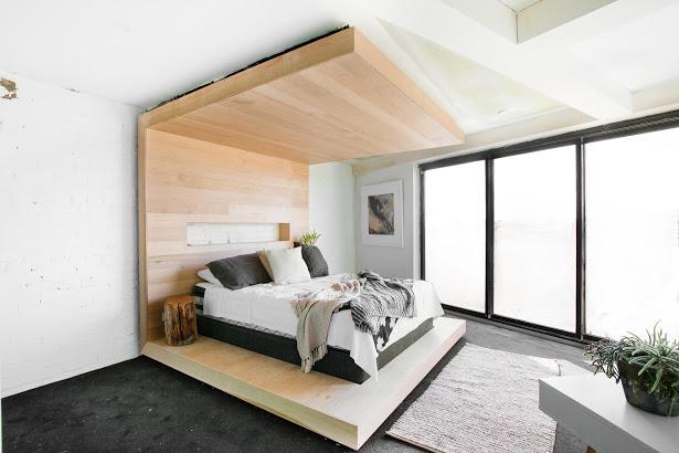 The Block Triple Threat Tim Anastasia Bedroom Shot With - The block bedroom designs
