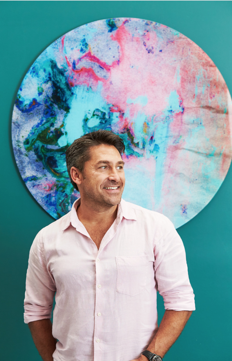 Jamie durie and the canvas workshop bring art outside for Jamie durie garden designs