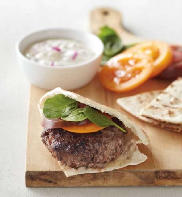 Foodie Friday: Lamb burgers with red onion and cumin sauce ...