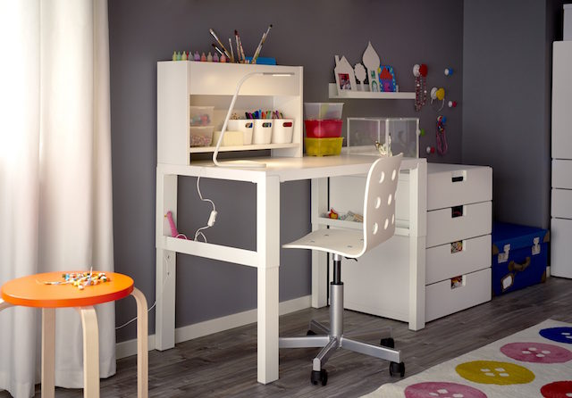 ikea s fabulous new desk will grow with your child the interiors addict. Black Bedroom Furniture Sets. Home Design Ideas