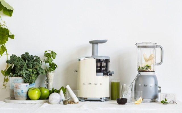 Slow Juicer And Blender : Smeg s new cold-press juicer looks super hot - The Interiors Addict