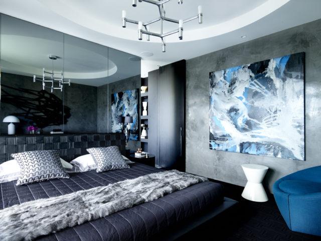 Scott's Blue Essence in Greg Natale's Elizabeth Bay House project