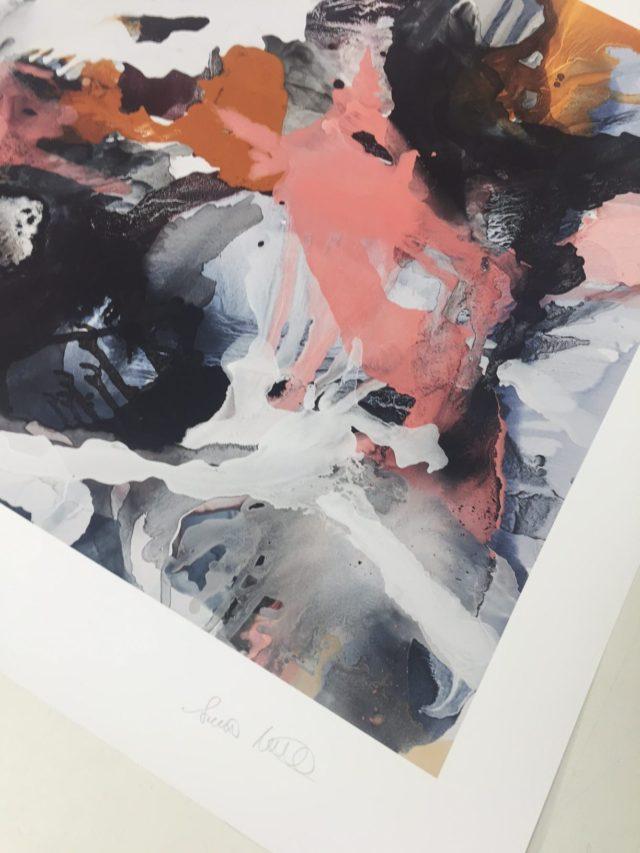 The Ocean Bliss print, unframed