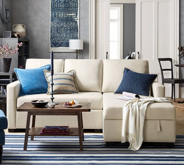 Pottery Barn Furniture For Apartments: Pottery Barn's New Size-conscious Range Ideal For
