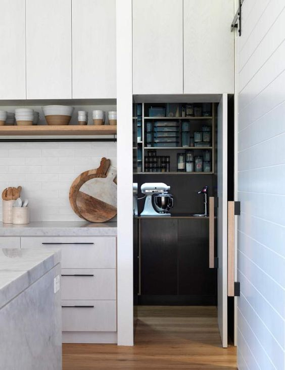 How To Design A Contemporary Butler S Pantry The
