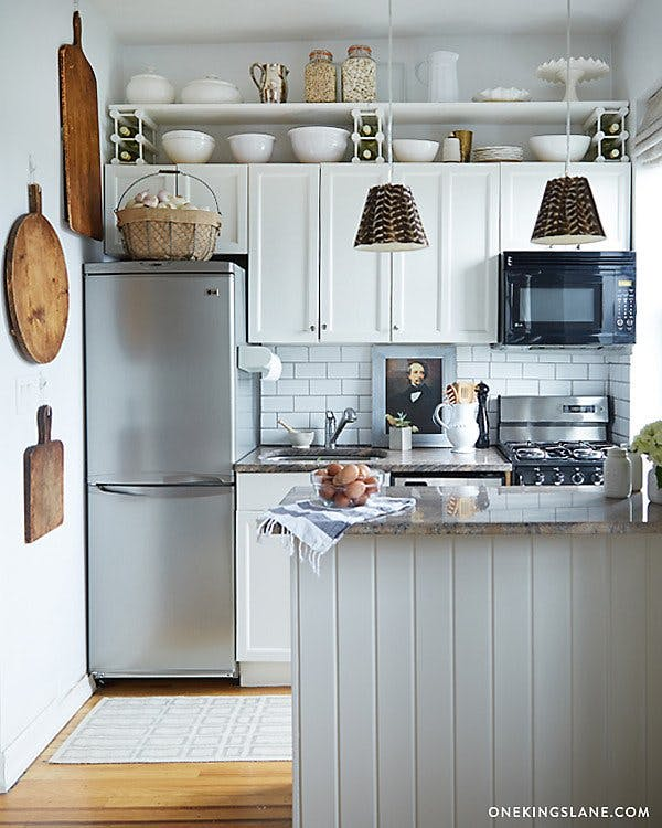 Clever hacks to make the most of a small kitchen