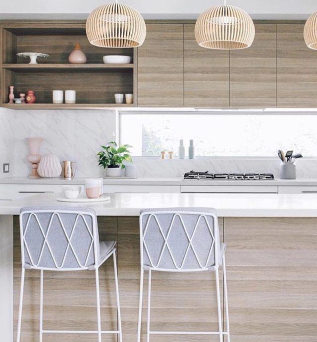 Meet the design savvy grandmother with 46k insta followers - Como iluminar una cocina ...