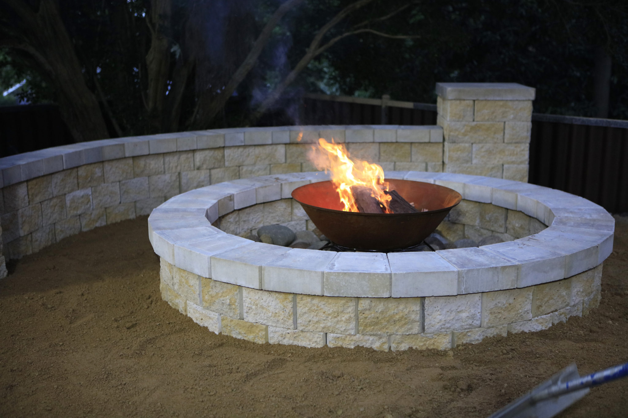 Build your own DIY fire pit