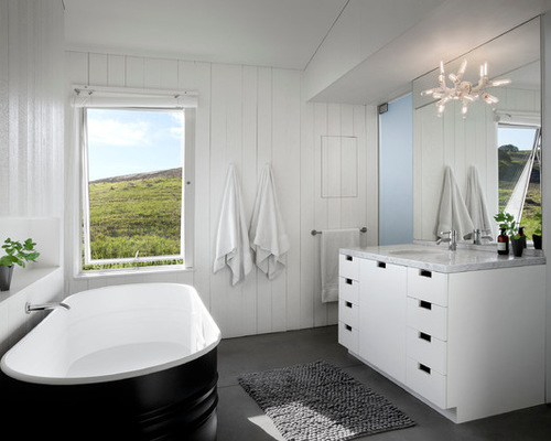 Bathroom On A Budget Stock Tank Bathtubs The Interiors