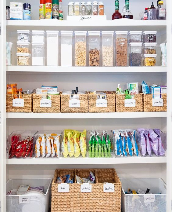Organized Pantry And Pantry Tips: 'Decluttering' Is Trending On Pinterest