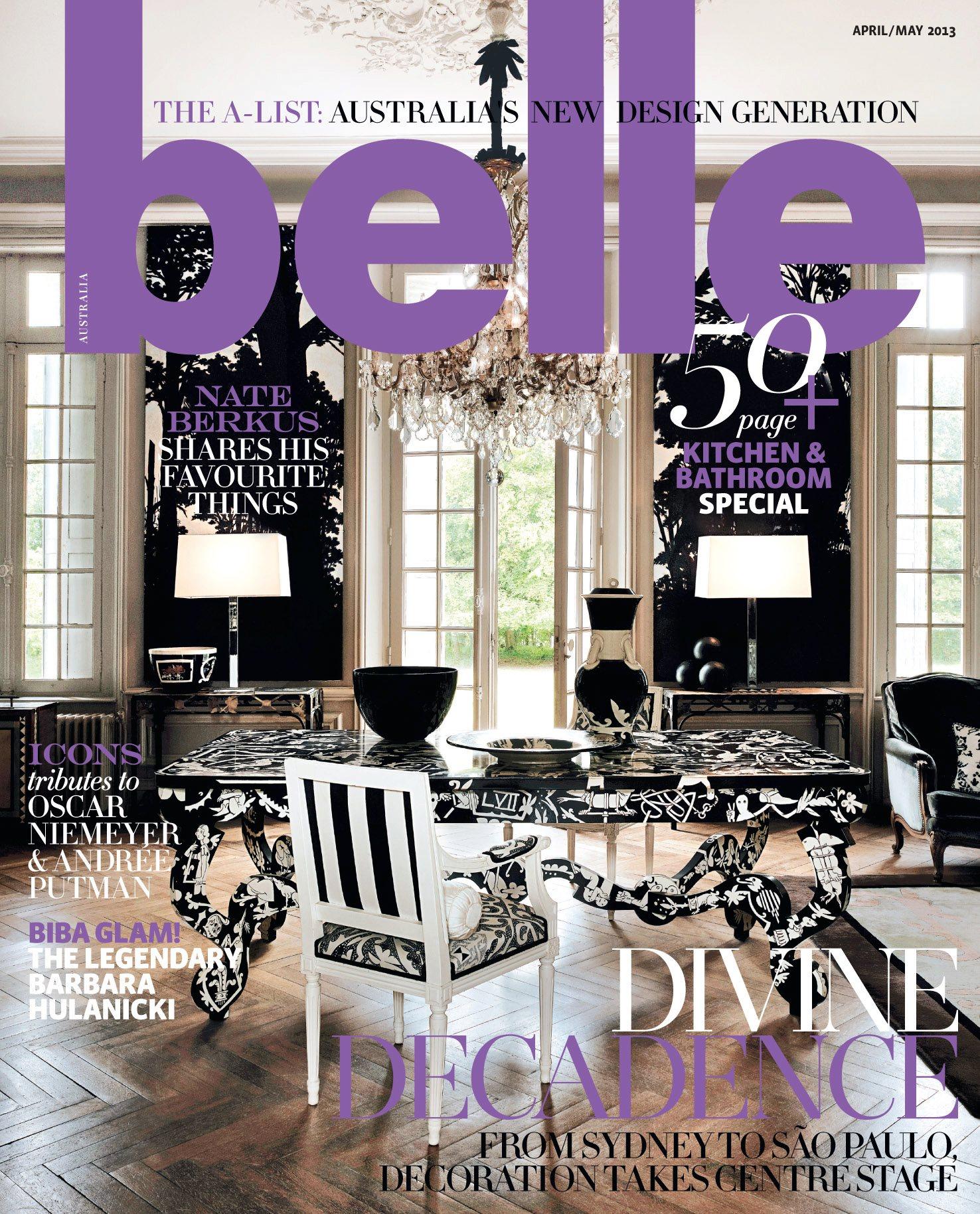 Belle Interior Design Magazine Australia