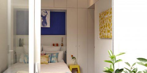 Cushion designer Ellie's colourful terrace home