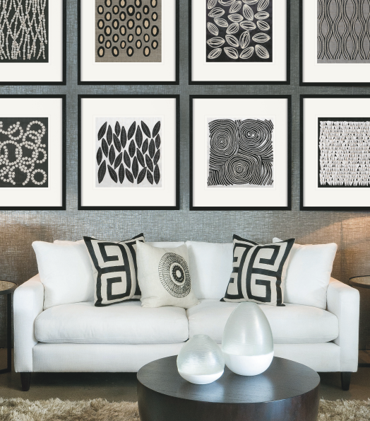 Their wholesale art, inspired by nature, is popular with interior designers