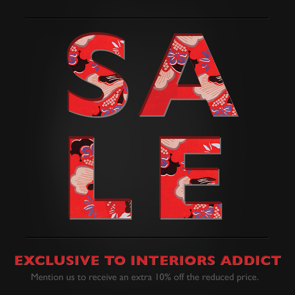Exclusive Extra Discount For Interiors Addicts At The