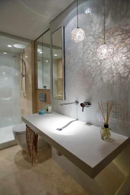 Top 10 design tips for a really great bathroom the interiors addict oversized tiles give us a chance to eliminate the grout lines and give the visual feeling of more space with strip drains we can slope the tiles in one aloadofball Images