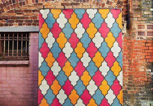 Armadillo's Moorish rugs go multicolour