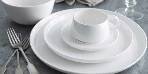 New pieces added to Marc Newson's popular tableware for Noritake (and Qantas)