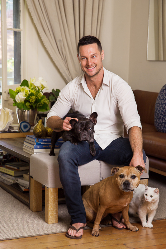 At Home With The Block Judge Darren Palmer And Living