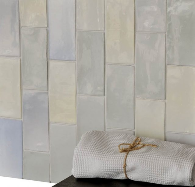 Trend For Pastels Extends To Subway Tiles The Interiors