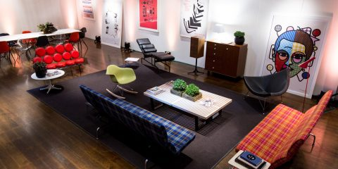 The Herman Miller Collection Lounge at the Sydney Film Festival Hub