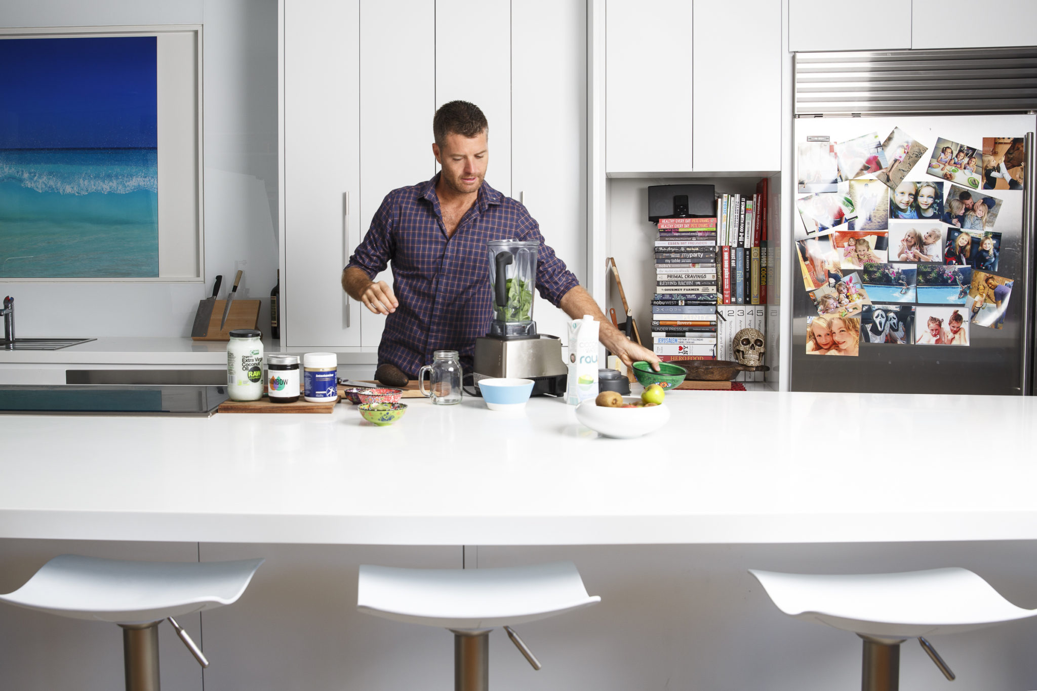 At home with My Kitchen Rules\' celebrity chef, Pete Evans - The ...