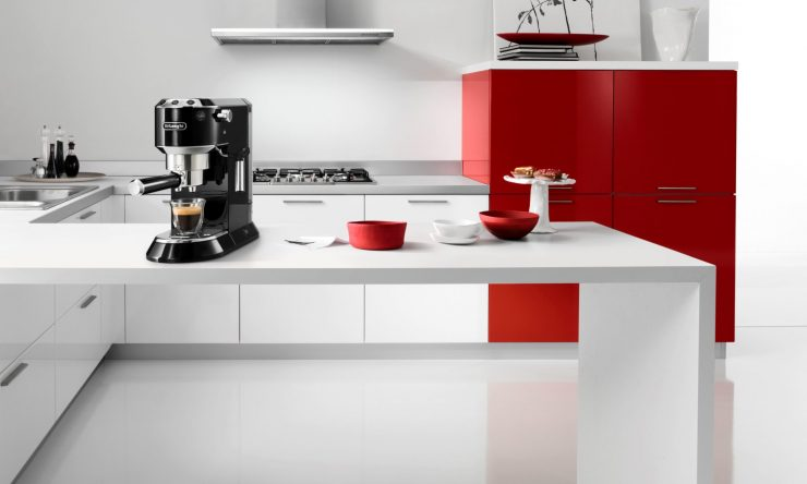 Make cafe-worthy coffee at home with the DéLonghi Dedica