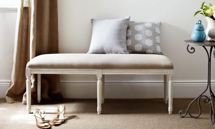 Win a French inspired bed ottoman from Lavender Hill Design