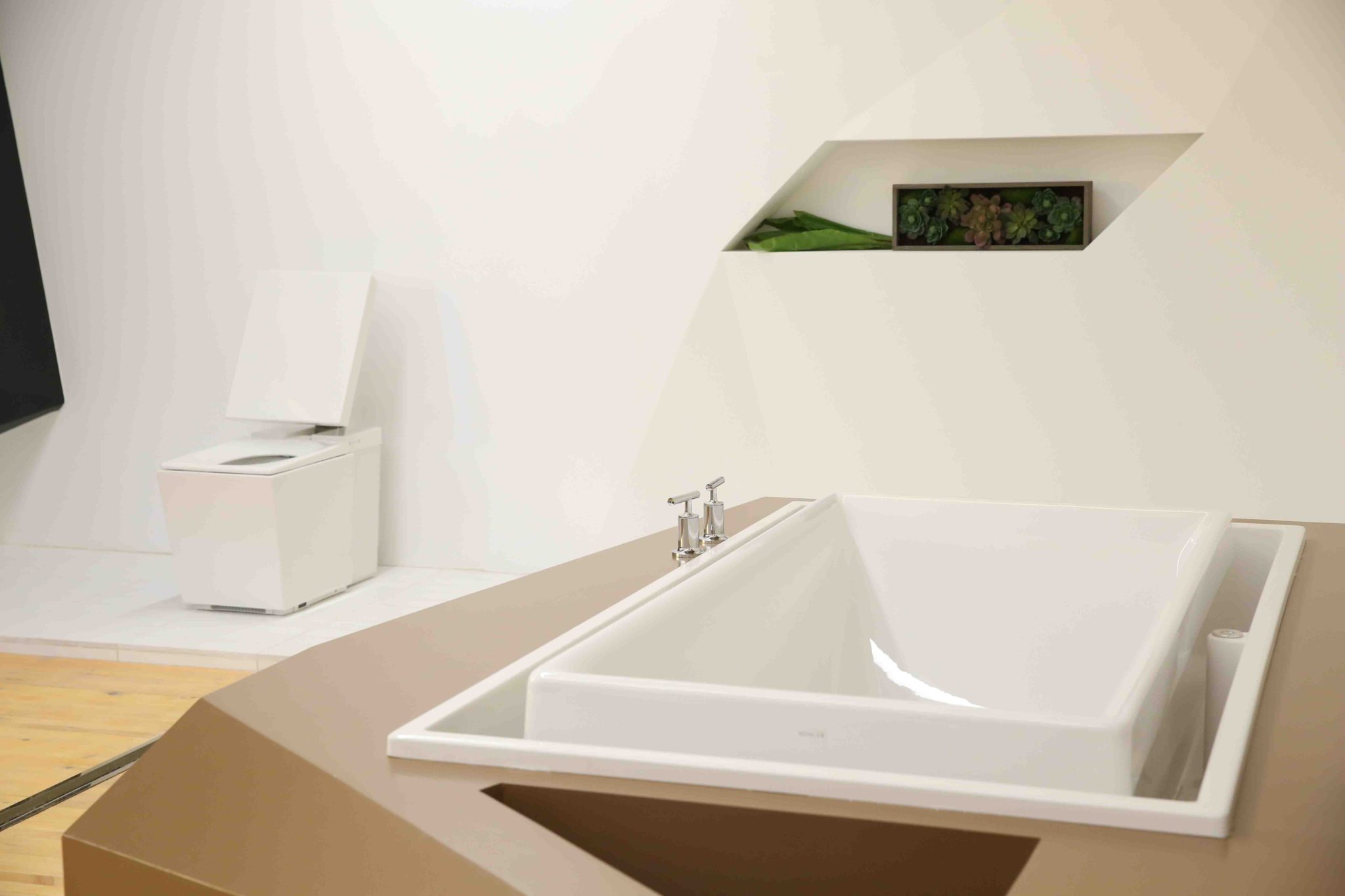 Is this the bathroom of the future the interiors addict for Future bathroom designs